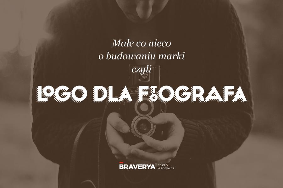 projekt logo dla Fotografa - projektowanie logo BRAVERYA Bydgoszcz